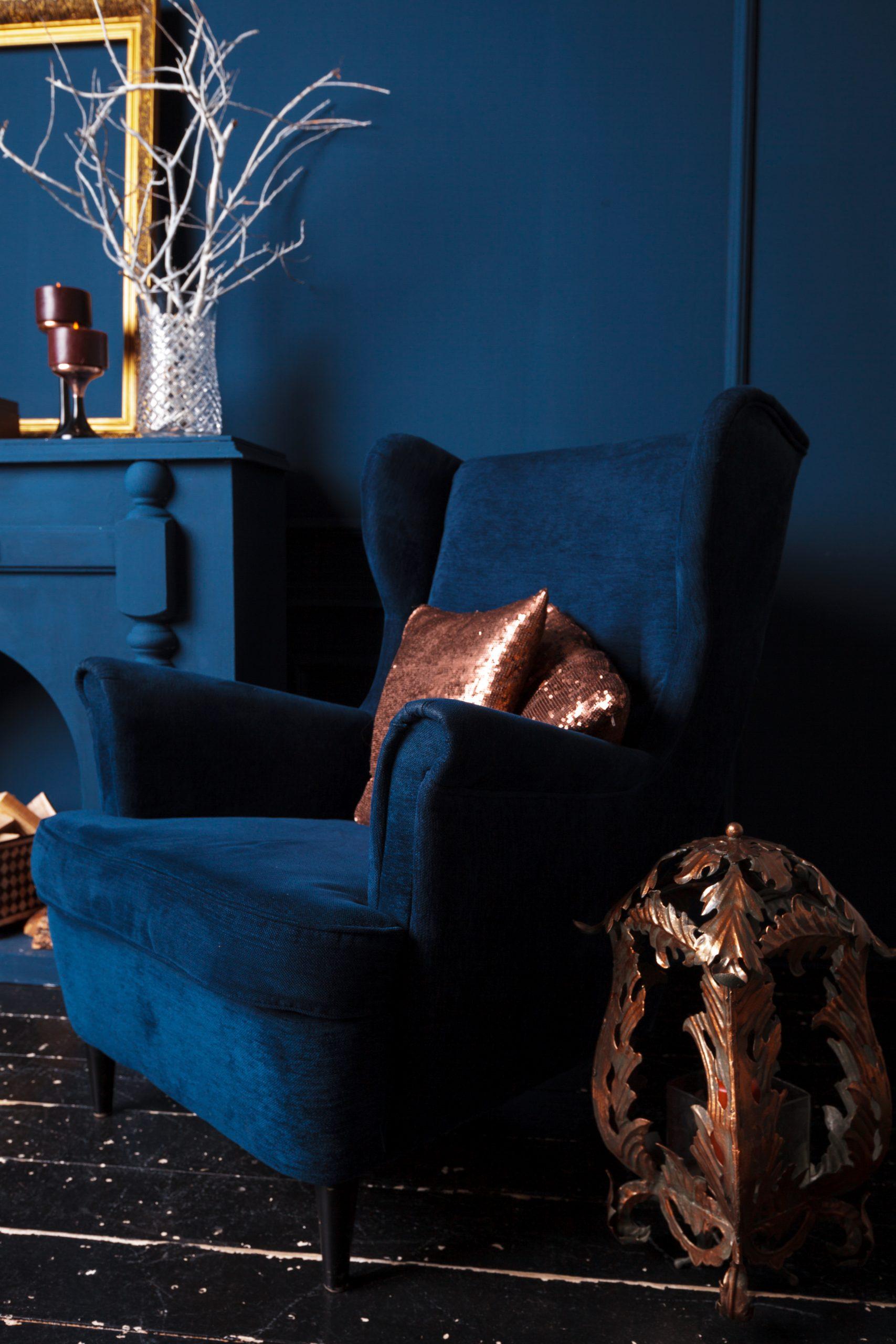 Intégrer le bleu marine dans une décoration d'intérieur
